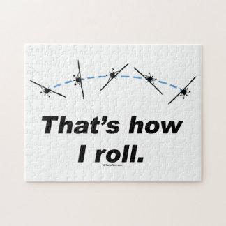 Acepille cómo ruedo rompecabezas