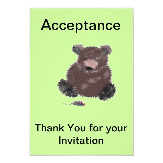 Aceptación de la invitación