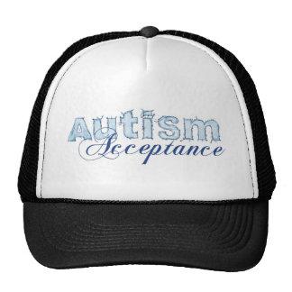 Aceptación del autismo gorras de camionero