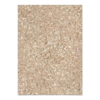 Acera beige amelocotonada pálida del cemento invitaciones magnéticas