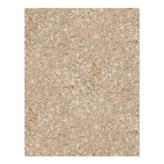 Acera beige amelocotonada pálida del cemento membrete personalizado