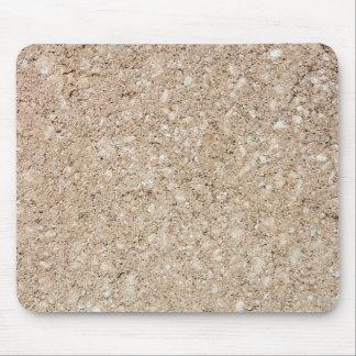 Acera beige amelocotonada pálida del cemento mouse pads