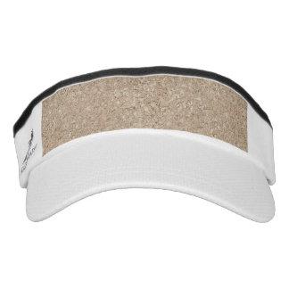 Acera beige amelocotonada pálida del cemento visera