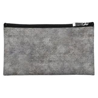 Acera gris resistida del cemento