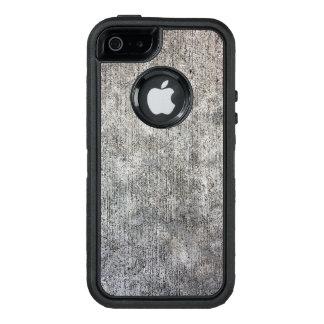 Acera gris resistida del cemento funda OtterBox defender para iPhone 5