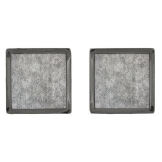 Acera gris resistida del cemento gemelos plomizos