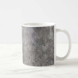 Acera gris resistida del cemento taza clásica
