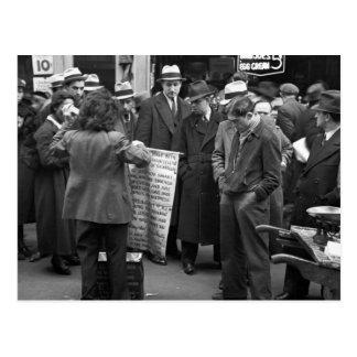 Acera Sales 1936 de NYC Postales