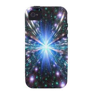 Acercamiento de la velocidad de la luz vibe iPhone 4 funda