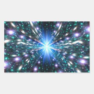 Acercamiento de la velocidad de la luz rectangular altavoz