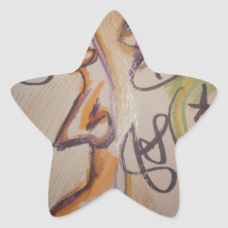 Acercamiento de Multiparadigmatic Pegatinas Forma De Estrella Personalizadas