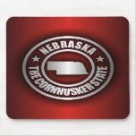 """Acero 2"" de Nebraska Mousepad"