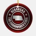 """""""Acero 2"""" de Nebraska ornamentos Ornamentos De Reyes"""