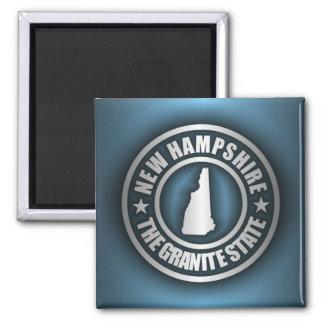 """Acero 2"" de New Hampshire imanes Imán"