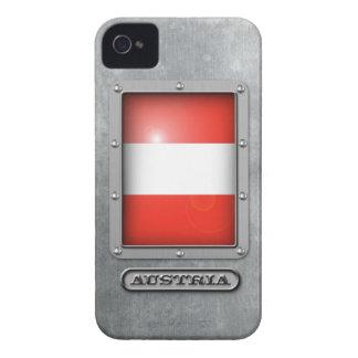Acero austríaco iPhone 4 protectores
