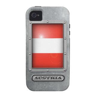 Acero austríaco vibe iPhone 4 carcasas