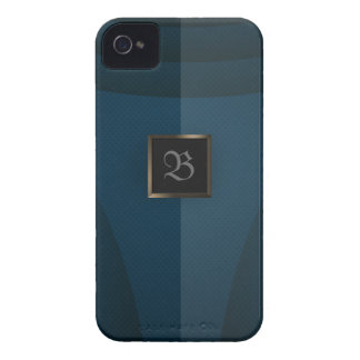 Acero azul 2 iPhone 4 Case-Mate fundas