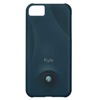 acero azul funda para iPhone 5C