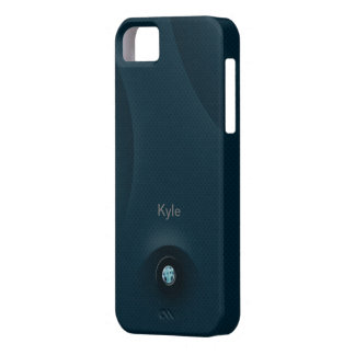 acero azul iPhone 5 carcasas