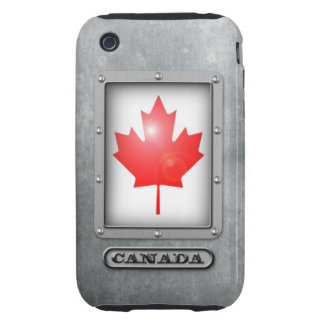 Acero canadiense iPhone 3 tough coberturas