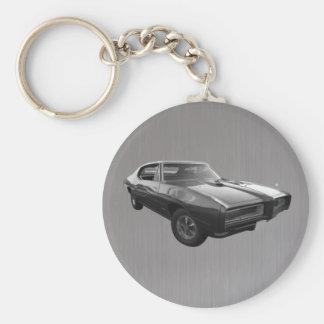 Acero cepillado de GTO en 1968 Llaveros Personalizados
