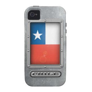 Acero chileno iPhone 4/4S carcasa