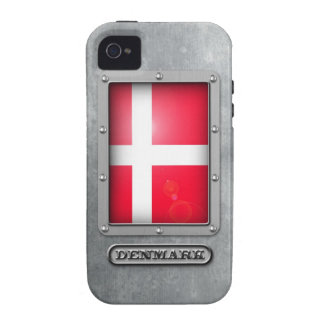 Acero danés vibe iPhone 4 funda