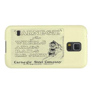 Acero de Carnegie para las ruedas locomotoras Carcasa De Galaxy S5