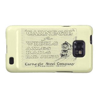 Acero de Carnegie para las ruedas locomotoras Galaxy SII Funda