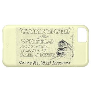 Acero de Carnegie para las ruedas locomotoras Funda Para iPhone 5C