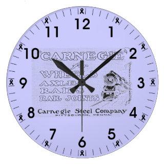 Acero de Carnegie para las ruedas los carriles y Reloj