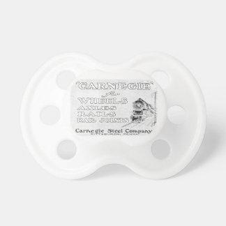Acero de Carnegie para los carriles de las ruedas  Chupete De Bebé