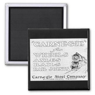 Acero de Carnegie para los carriles de las ruedas  Imanes