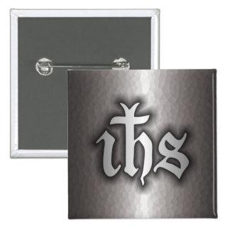 Acero de Christogram (EL SUYO) Pin Cuadrado