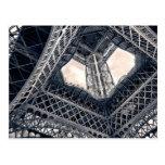 Acero de Eiffel Postal