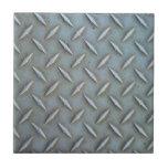 Acero de la placa del diamante azulejos
