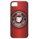 Acero de Ohio (rojo) iPhone 5 Fundas