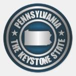 Acero de Pennsylvania (b) Etiqueta Redonda