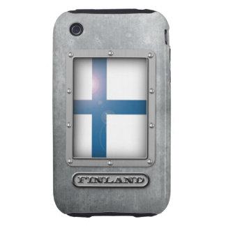 Acero finlandés funda resistente para iPhone 3