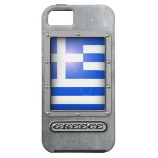 Acero griego iPhone 5 Case-Mate cobertura
