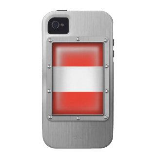 Acero inoxidable austríaco iPhone 4 carcasas