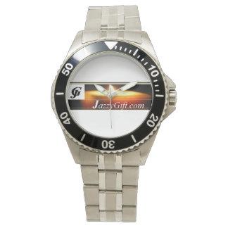 Acero inoxidable clásico reloj