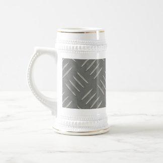 Acero inoxidable de la placa del diamante jarra de cerveza
