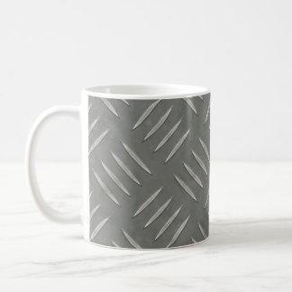 Acero inoxidable de la placa del diamante taza