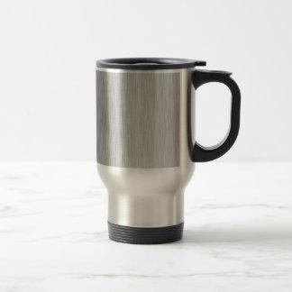 Acero inoxidable texturizado tazas de café