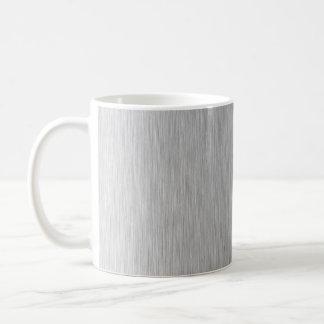 Acero inoxidable texturizado taza