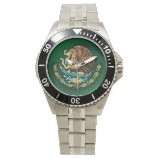 Acero mexicano 2 reloj de mano