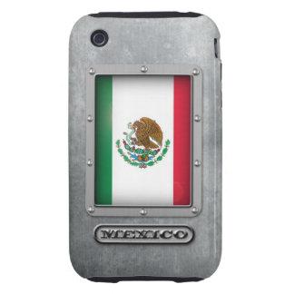 Acero mexicano carcasa though para iPhone 3