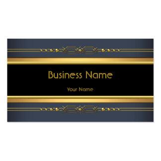 Acero negro con clase elegante del carbón de leña  tarjeta de visita