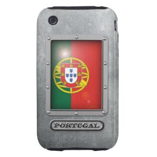 Acero portugués carcasa though para iPhone 3